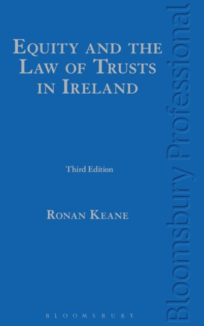 (ebook) Equity and the Law of Trusts in Ireland
