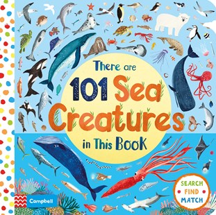 There Are 101 Sea Creatures In This Book - Non-Fiction Animals