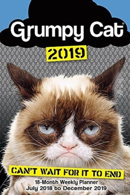 Grumpy Cat 2019 Weekly Planner