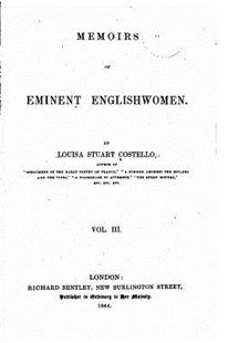 Memoirs of Eminent Englishwomen - Vol. III by Louisa Stuart Costello (9781533599643) - PaperBack - Reference