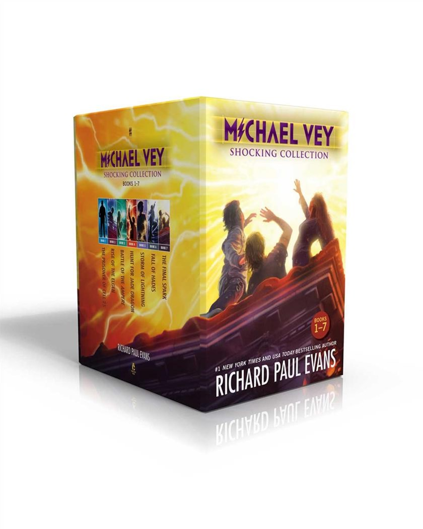 Michael Vey Shocking Collection, Books 1-7
