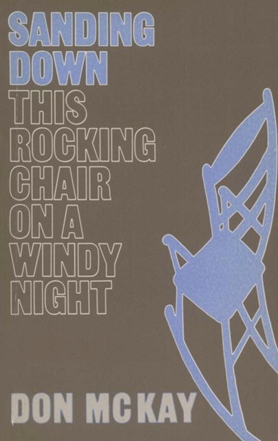 Sanding Down This Rocking Chair on a Windy Night