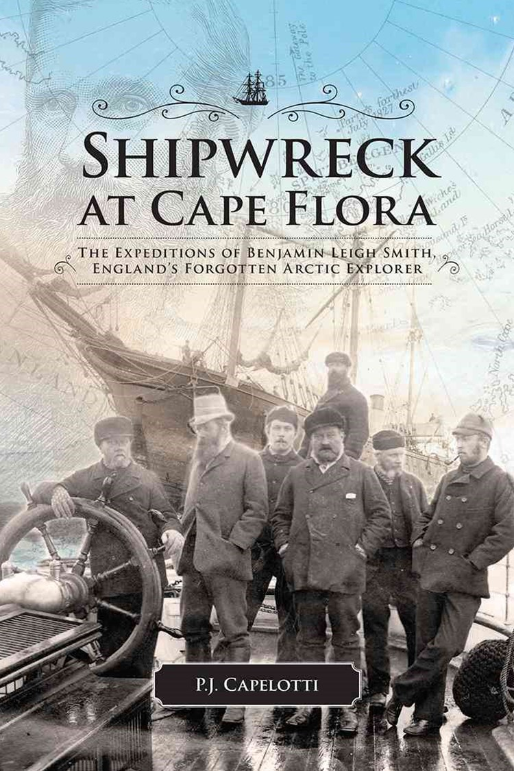 Shipwreck at Cape Flora