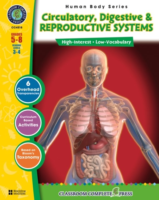 Circulatory, Digestive & Reproductive Systems Gr. 5-8