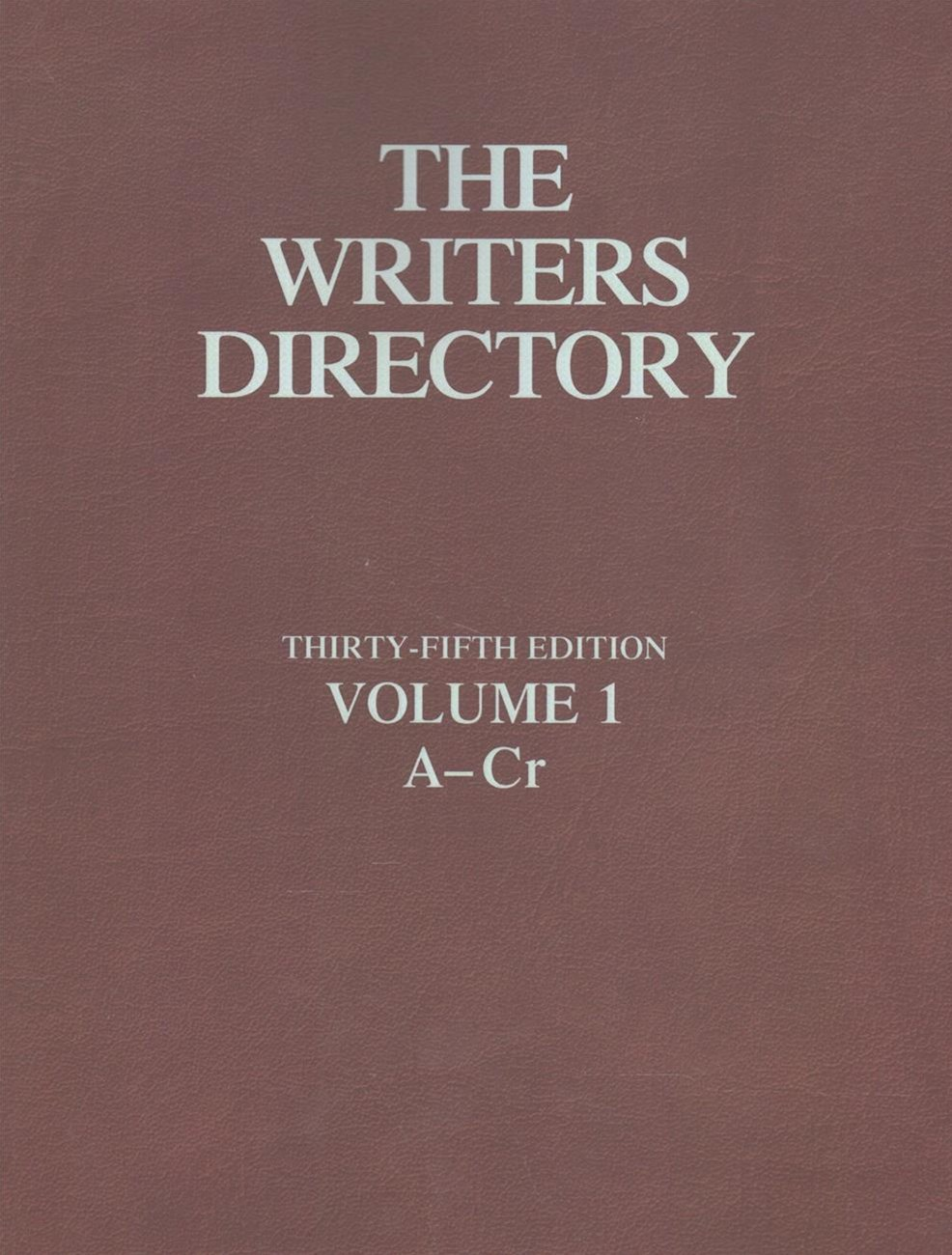 Writers Directory