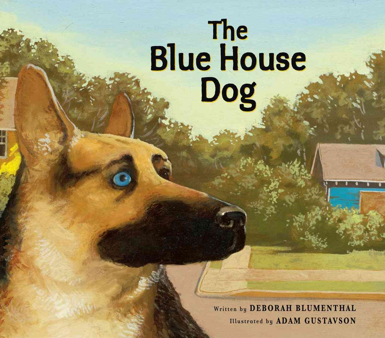 The Blue House Dog