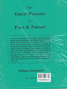 Great Pyramid in Fact and Theory by William Kingsland (9781564596772) - PaperBack - Religion & Spirituality New Age