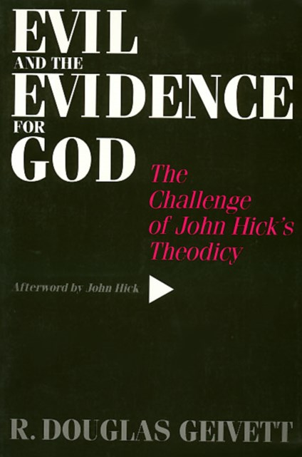 Evil and the Evidence for God