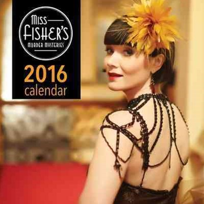 Miss Fisher's Murder Mysteries 2016 Calendar