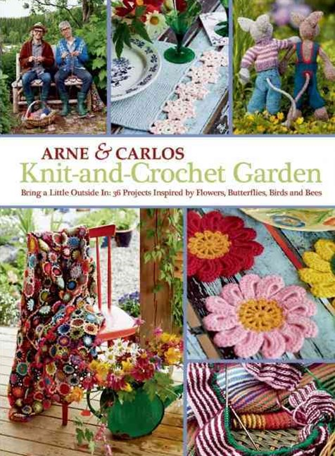 Knit-and-Crochet Garden