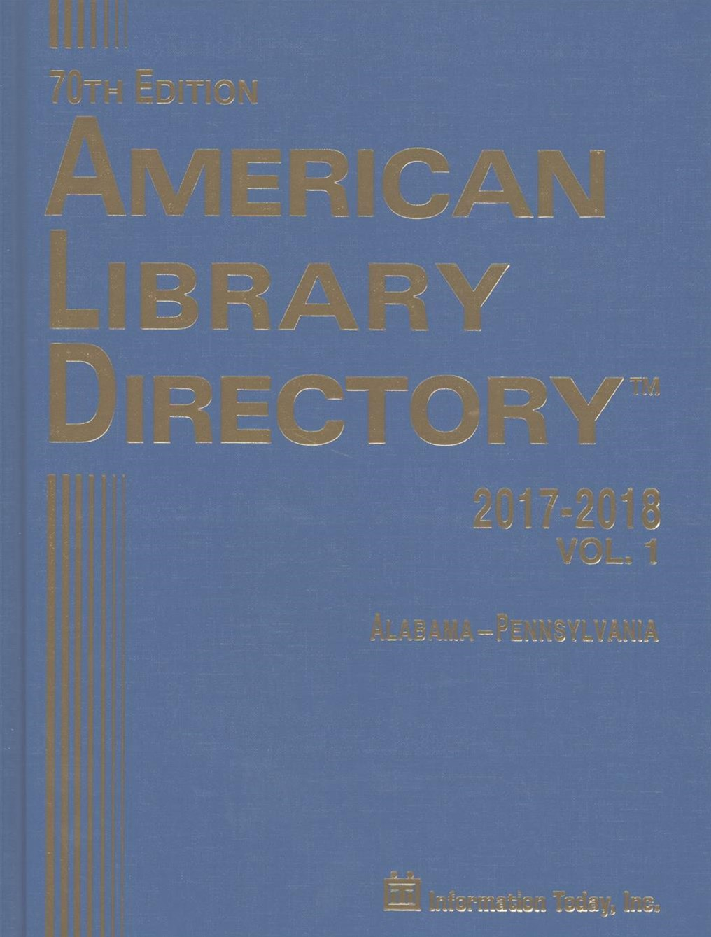 American Library Directory 2017-2018