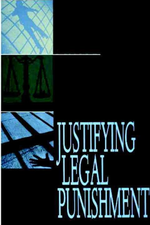 Justifying Legal Punishment
