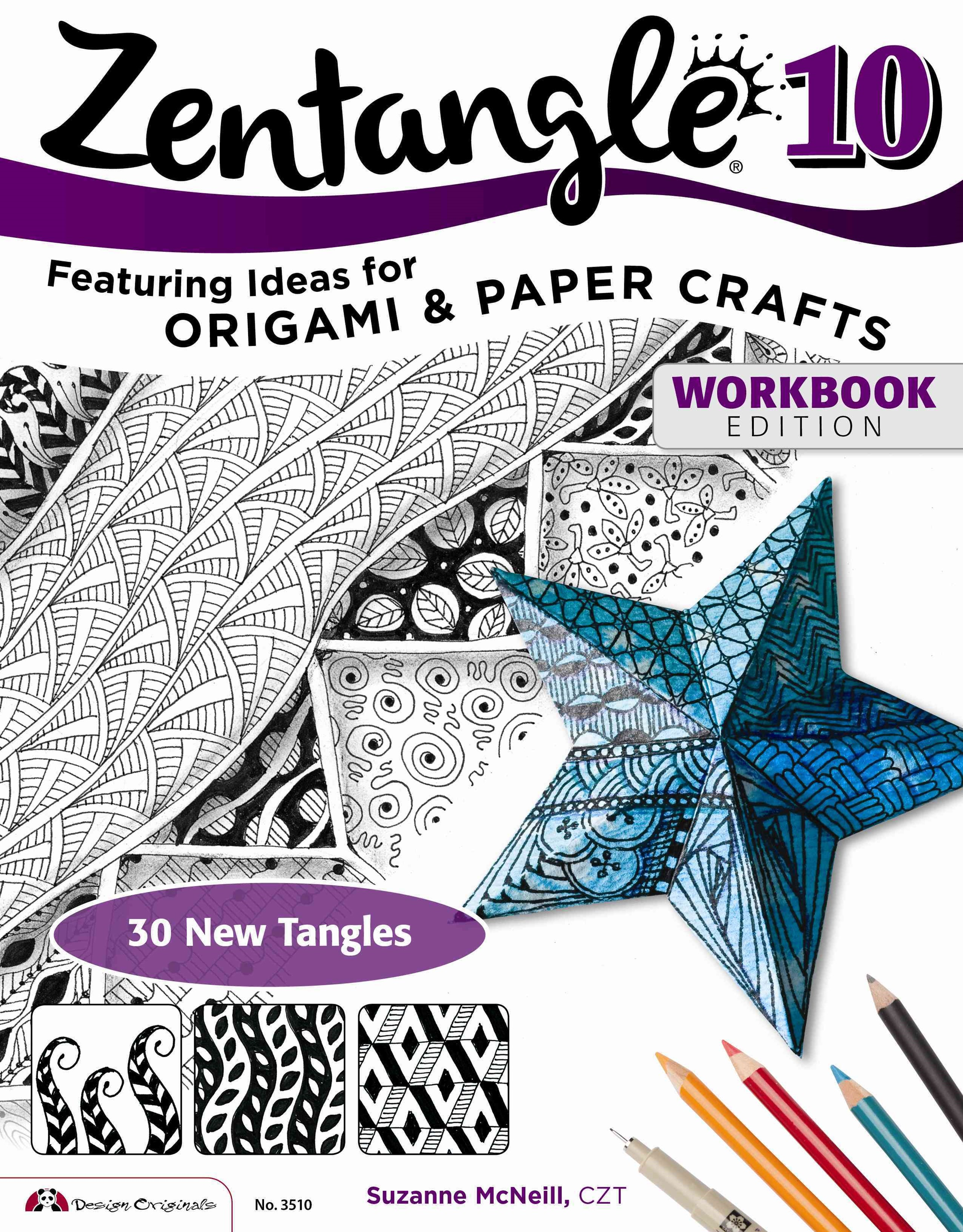 Zentangle 10, Workbook Edition