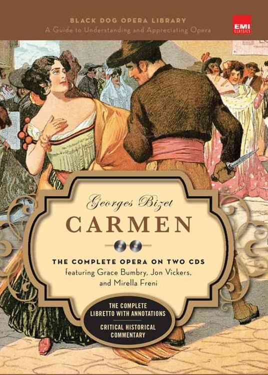 Carmen (Book And CDs)