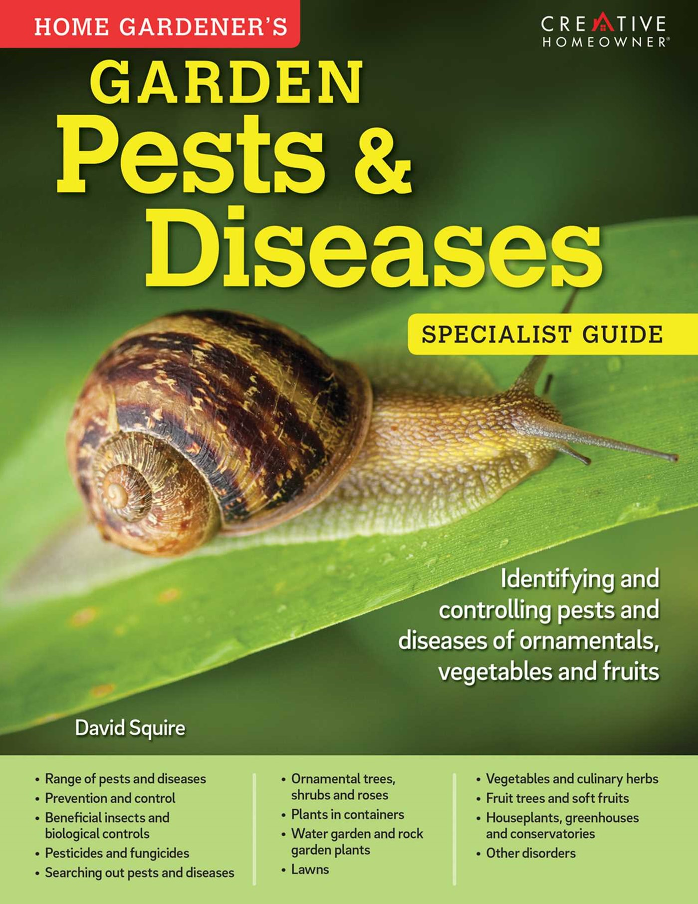 Home Gardeners Pests and Diseases