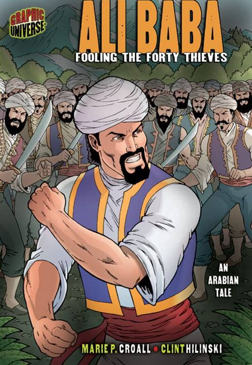 ALI BABA FOOLING THE FORTY THIEVES (AN ARABIAN TALE)