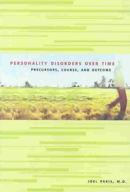 Personality Disorders over Time
