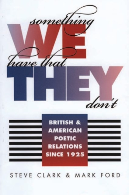 (ebook) Something We Have That They Don't