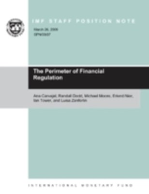 Perimeter of Financial Regulation