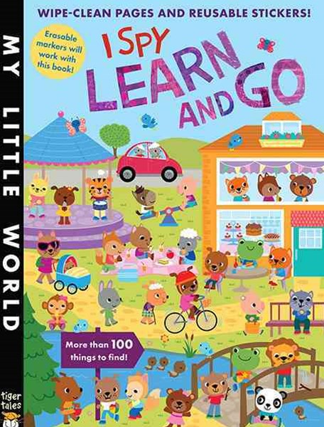 I Spy Learn and Go Sticker Activity