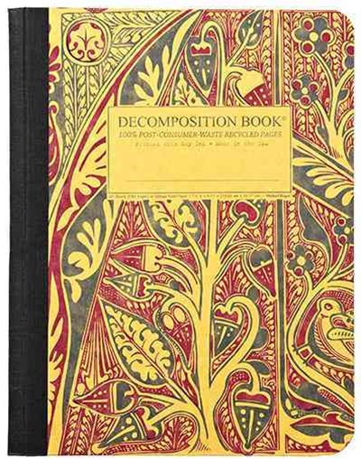 Decomposition - Notebook - Ruled - Large - Illuminations