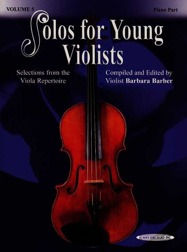 Solos for Young Violists, Vol 5