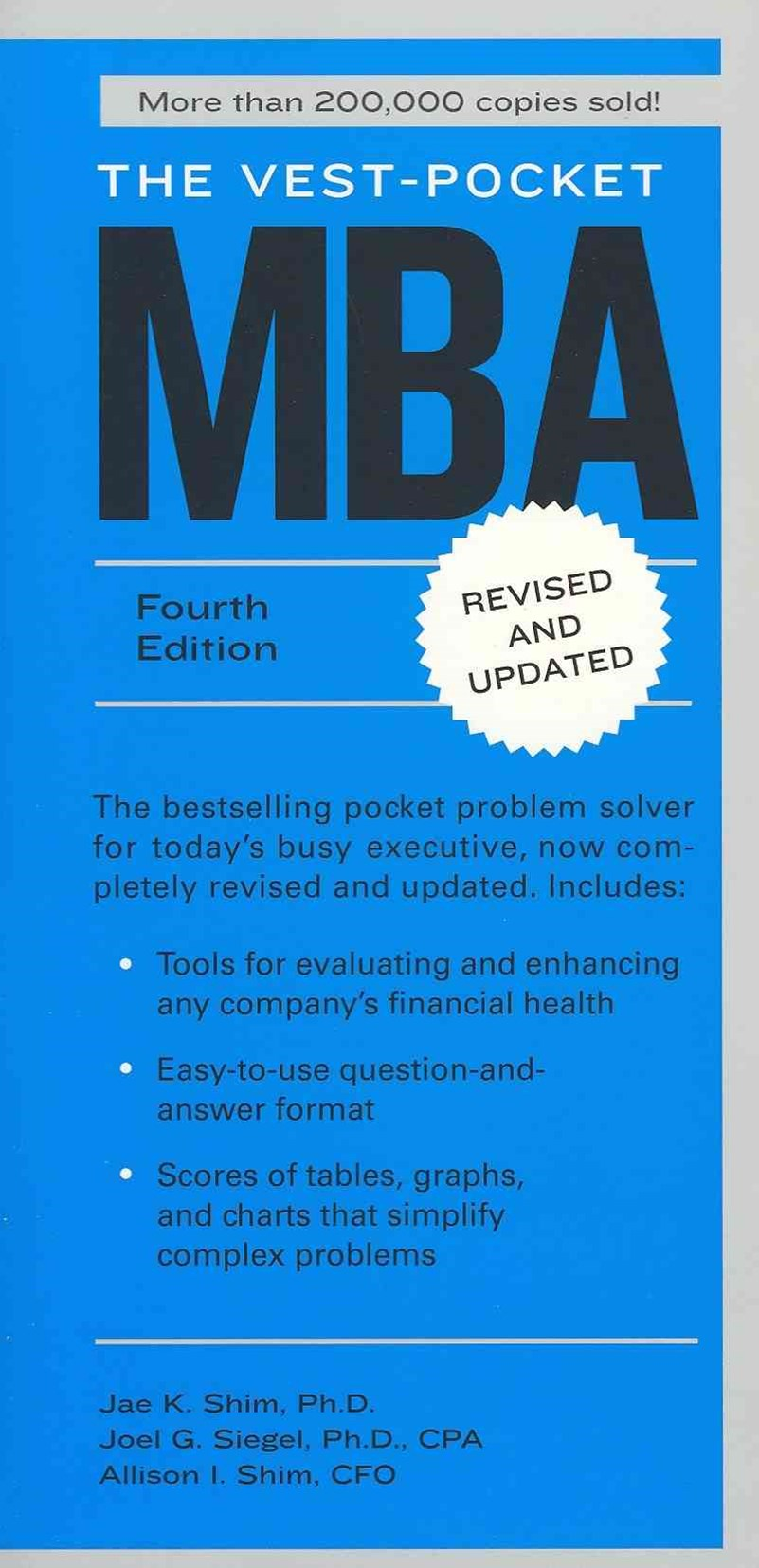The Vest-Pocket Mba, Fourth Edition
