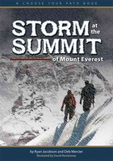 Storm at the Summit of Mount Everest