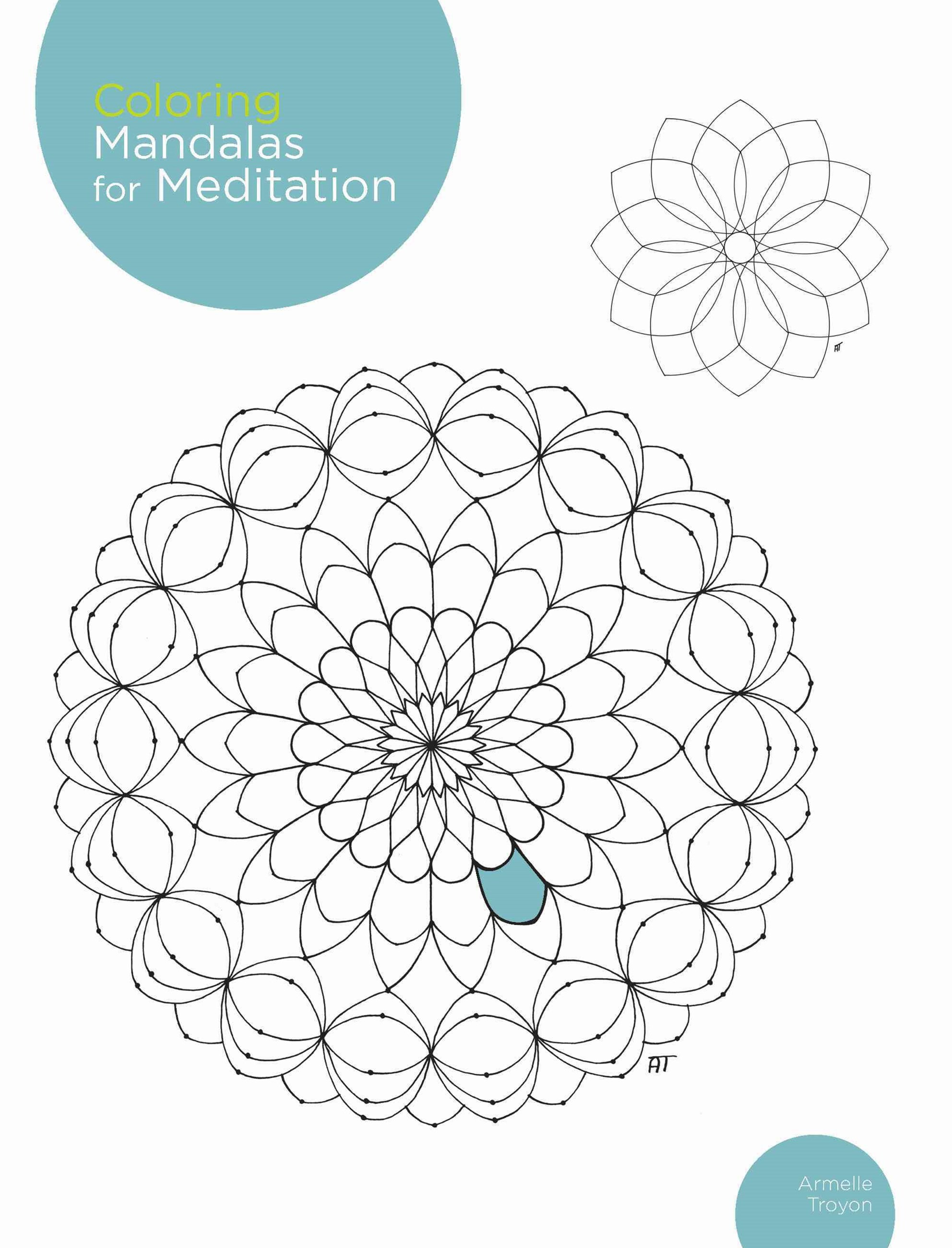 Coloring Mandalas for Meditation