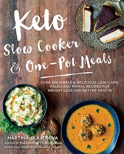 Keto Slow Cooker & One-Pot Meals by Martina Slajerova (9781592337804) - PaperBack - Cooking Health & Diet