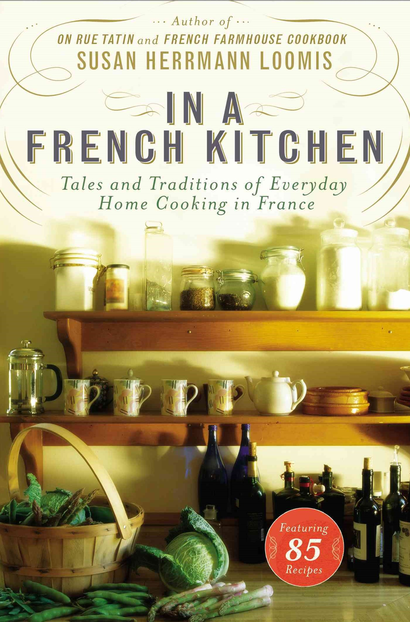 In A French Kitchenooking In France
