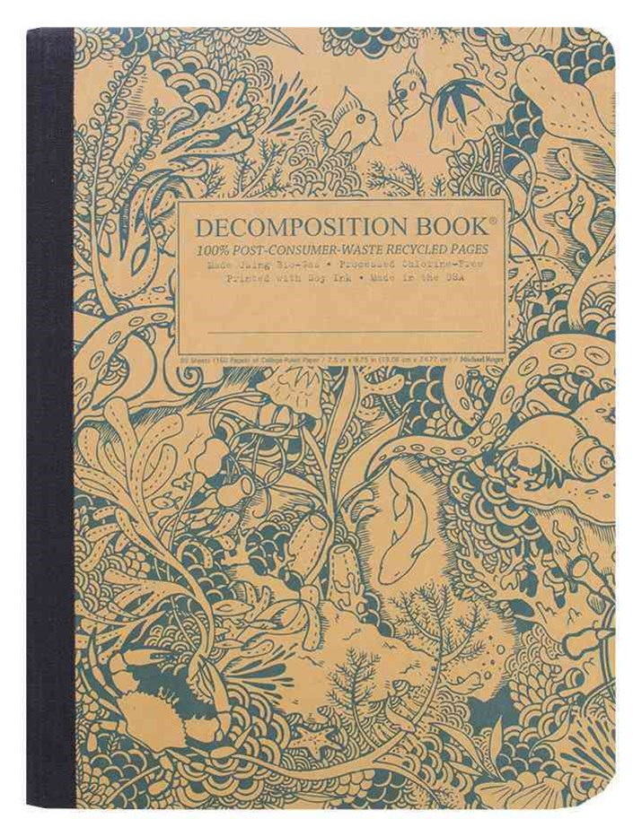 Decomposition - Notebook - Ruled - Large - Under The Sea