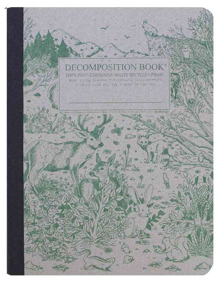 Decomposition - Notebook - Ruled - Large - Spirit Animal