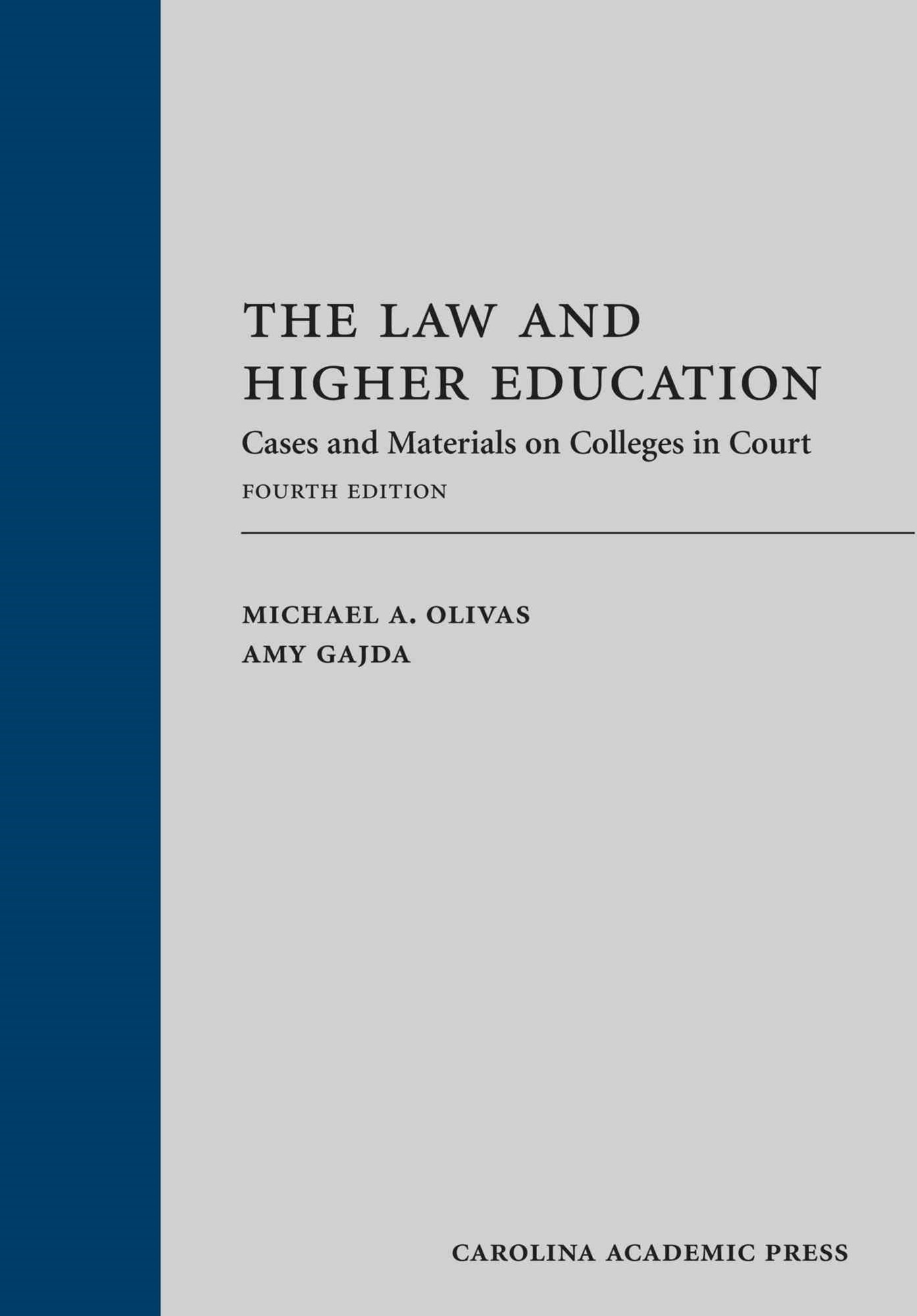 The Law and Higher Education