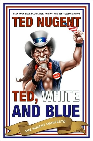 Ted, White and Blue