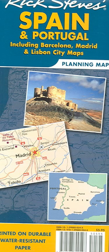 Rick Steves' Spain and Portugal Map