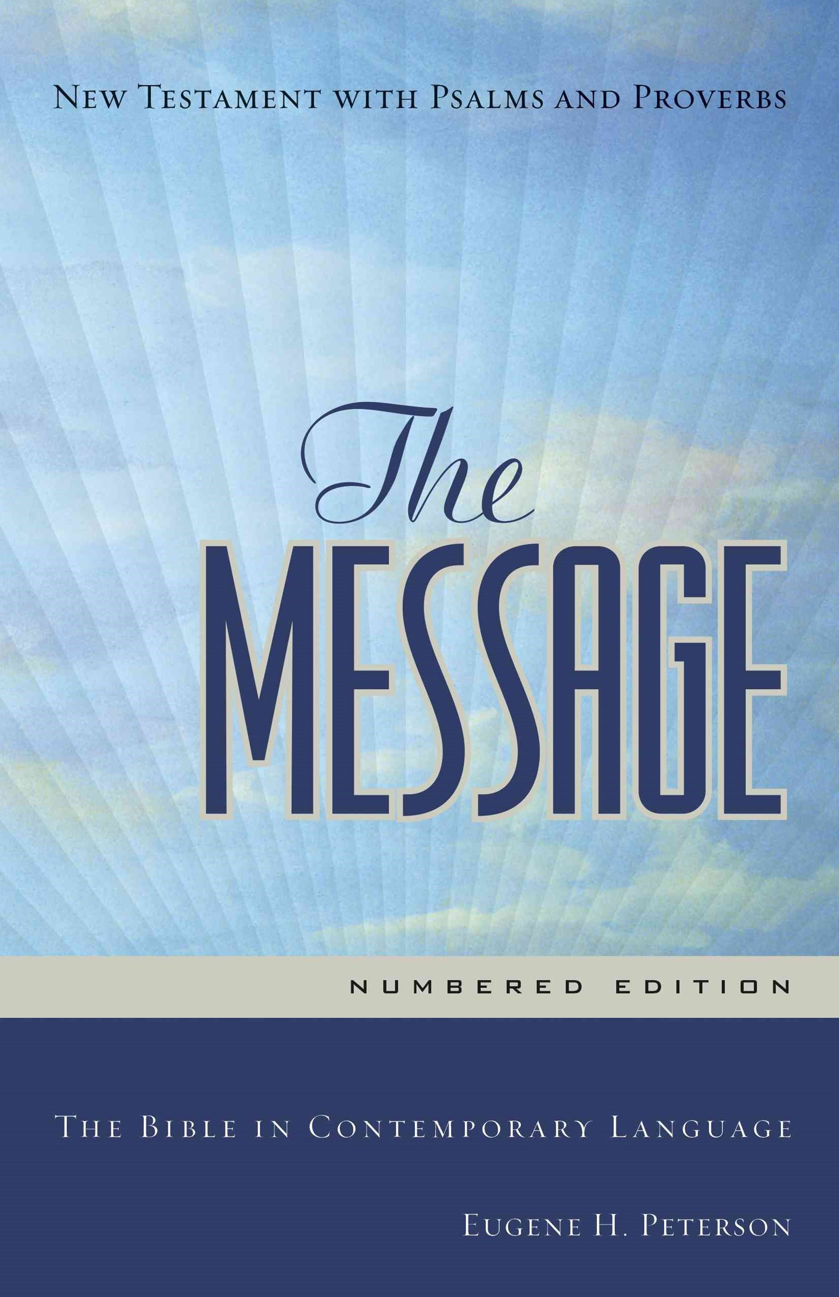 Message Personal New Testament