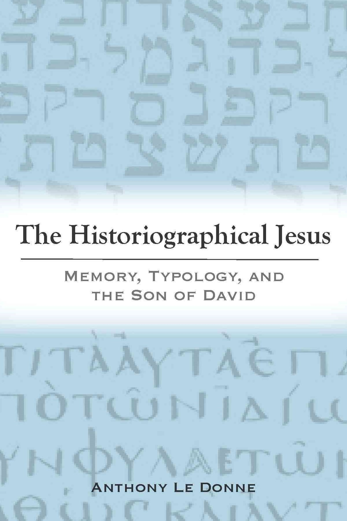 Historiographical Jesus