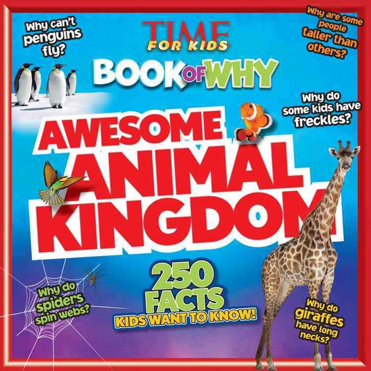 Book of Why: Awesome Animal Kingdom