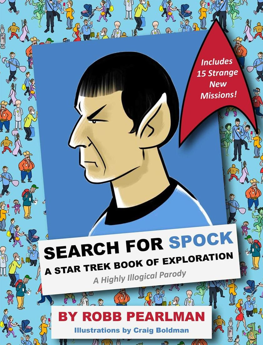 Search for Spock- a Star Trek Book of Exploration