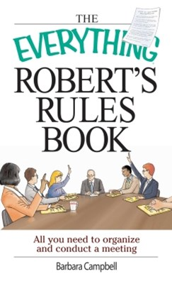 (ebook) The Everything Robert's Rules Book