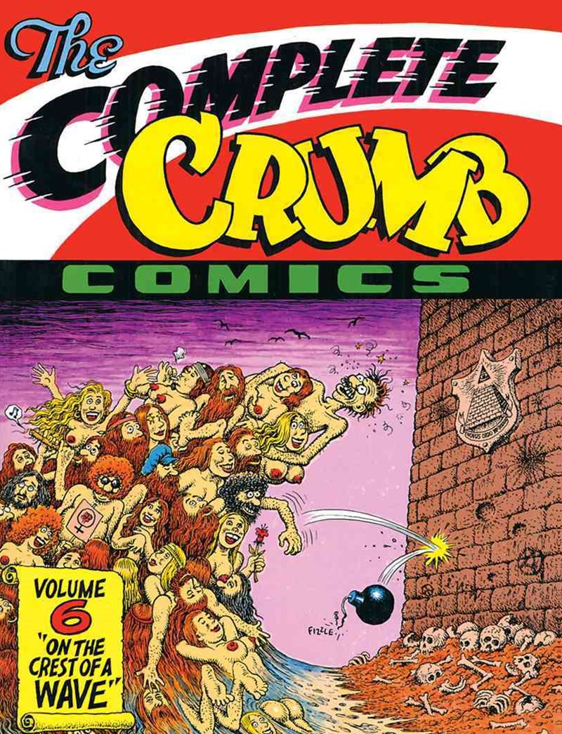 The Complete Crumb Comics Vol. 6 'on the Crest of a Wave'