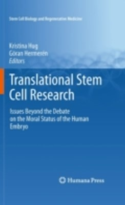 (ebook) Translational Stem Cell Research