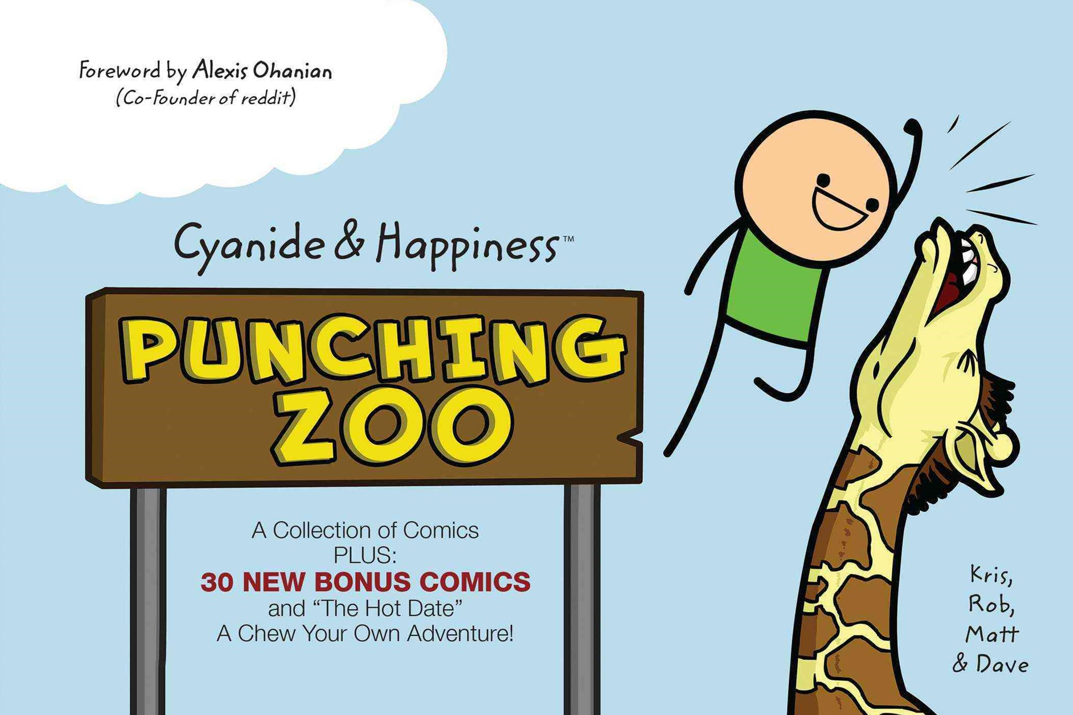 Cyanide and Happiness - Punching Zoo