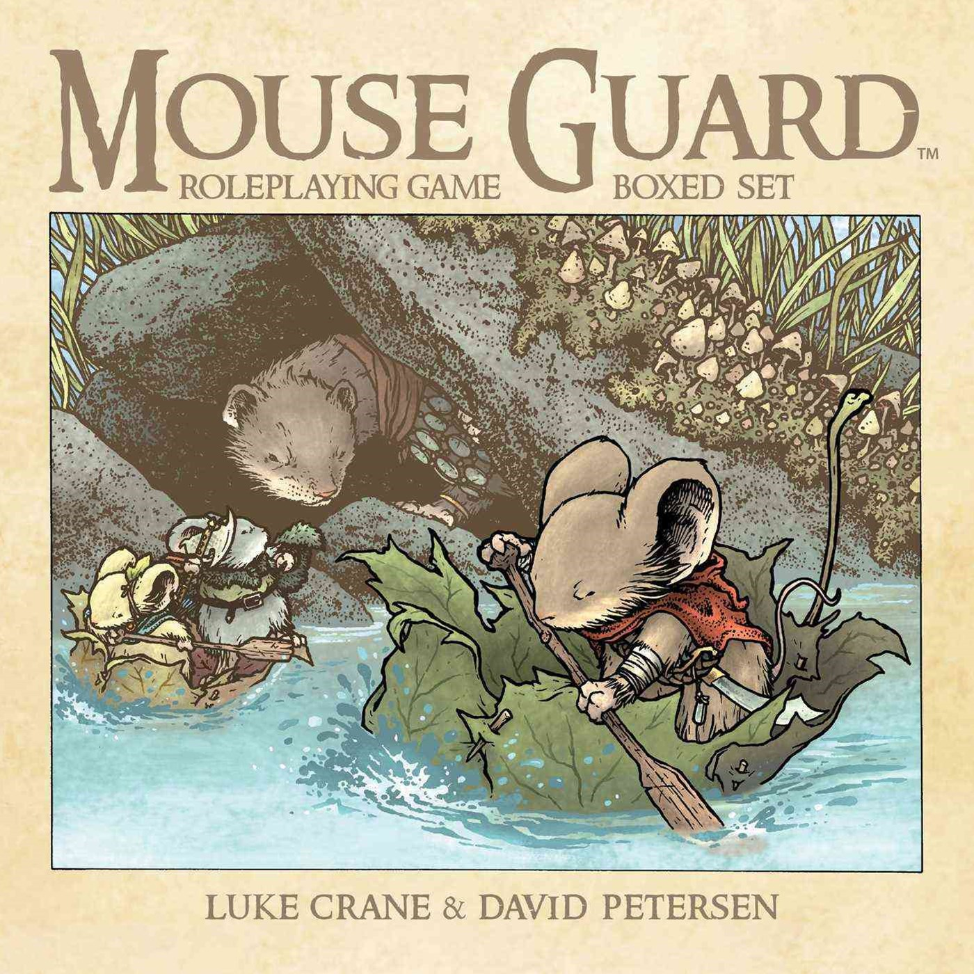 Mouse Guard Roleplaying Game Box Set, 2nd Ed
