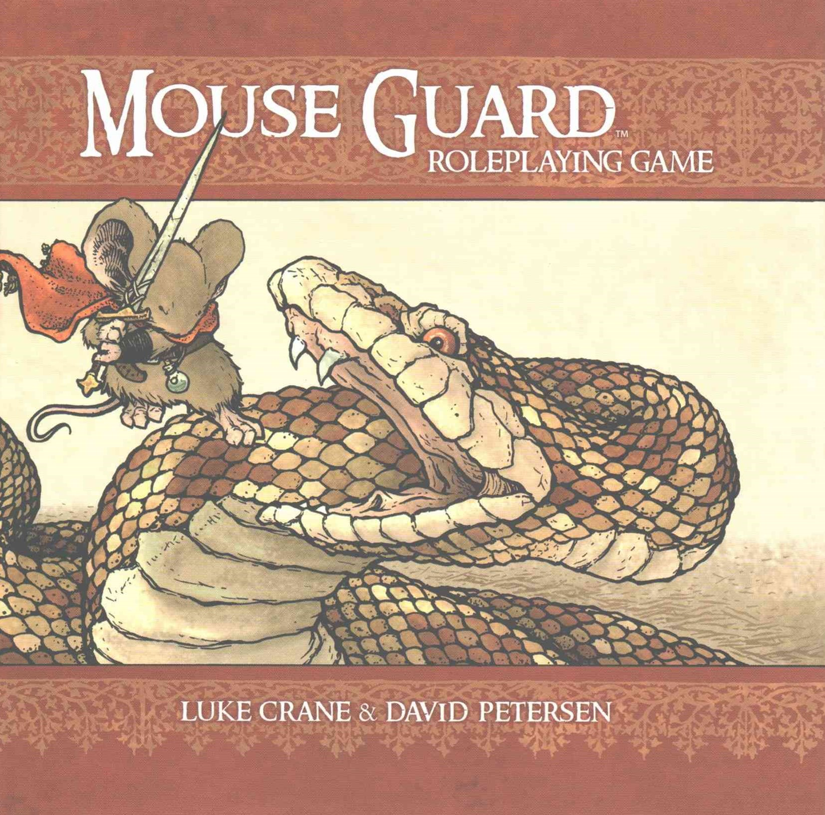 Mouse Guard Roleplaying Game, 2nd Ed