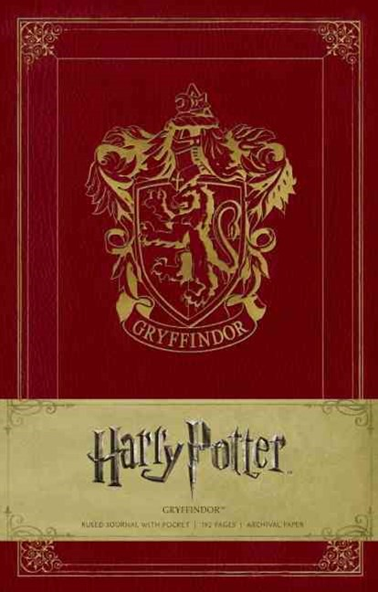 Harry Potter Gryffindor Hardcover Ruled