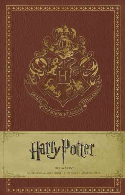 Harry Potter Hogwarts Hardcover Ruled Jo