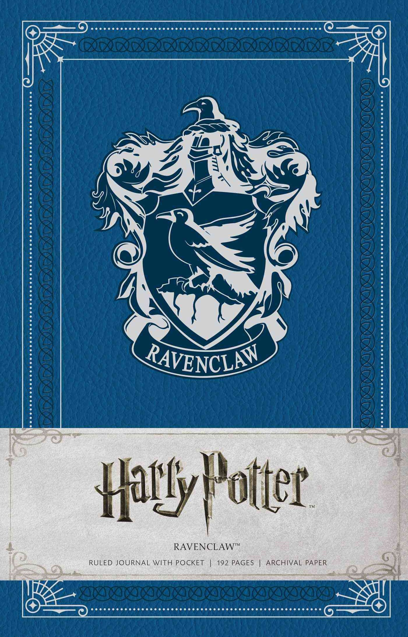 Harry Potter: Ravenclaw Hardcover Ruled