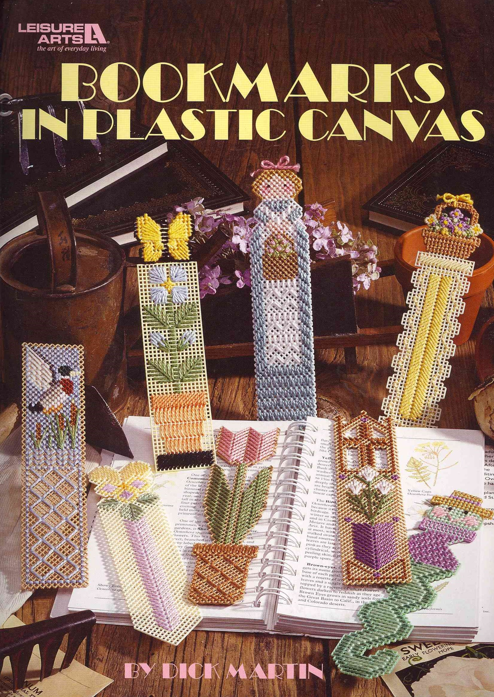 Bookmarks in Plastic Canvas